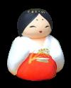 あわしまさま(門司ヶ関人形)
